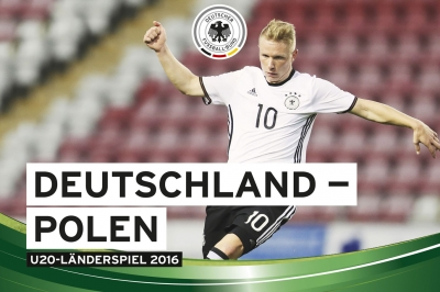 U20 Länderspiel 2016: Deutschland - Polen