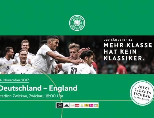 U 20- Länderspiel Deutschland vs. England